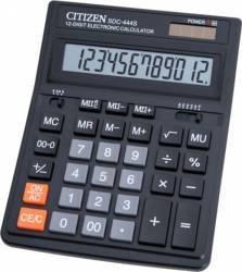 Calculator de birou Citizen SDC444S Black Calculatoare de birou
