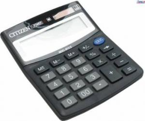 Calculator de birou Citizen SDC812BII Black Calculatoare de birou