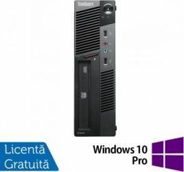 Desktop LENOVO Thinkcentre M91P i5-2400s 4GB 500GB Win 10 Home Calculatoare Refurbished