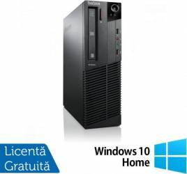 Desktop Refurbished Lenovo Thinkcentre M92p SFF G860 4GB 500GB Win 10 Home Calculatoare Refurbished