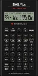 Calculator stiintific Texas Instruments BAII PLUS Professional Calculatoare de birou