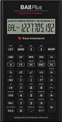Calculator stiintific Texas Instruments BAII PLUS Professional Calculatoare de birou