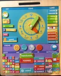 Calendar Magnetic BigJigs Vremea Multicolor Jucarii Interactive