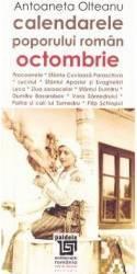 Calendarele poporului roman - Octombrie - Antoaneta Olteanu L3