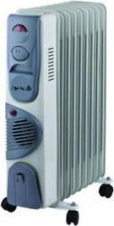 Calorifer Arielli SNYT RFT11 11 elementi termostat ventilator 2900 W Aparate de incalzire