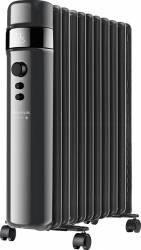 Calorifer electric cu ulei Taurus AGADIR 2500W 11 elem 3 niv de putere Display LED Timer 24 ore Negru Aparate de incalzire