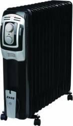 Calorifer electric cu ulei Zass ZR 13 BE 3000W 13 elementi Termostat reglabil Negru Aparate de incalzire