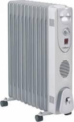 Calorifer electric Heller HRO 2511 2500W 3 trepte de putere Termostat reglabil Gri Aparate de incalzire