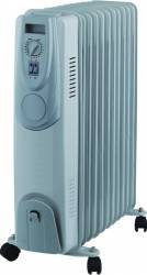 Calorifer electric SIMBIO YLB07A 2500W 11 elementi 3 trepte de putere Termostat reglabil Gri Aparate de incalzire