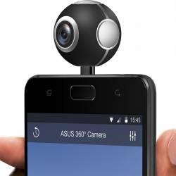 Camera ASUS Panoramica 360 grade Photo 4K Video 2K  - microUSB Neagra Gadgeturi