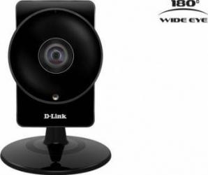 Camera de Supraveghere IP D-Link DCS-960L Wireless HD 180 Panoramic Indoor Negru Camere de Supraveghere