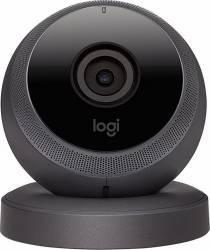 Camera de supraveghere Logitech Circle Home Security 1080p Microfon Neagra Camere de Supraveghere