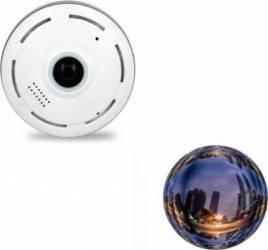 Camera de supraveghere wireless V380S 2MP + card 8Gb 360 de grade Camere de Supraveghere