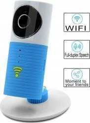 Camera de Supraveghere Wireless Smart Clever Dog MMDDOG-1W Albastru Camere de Supraveghere