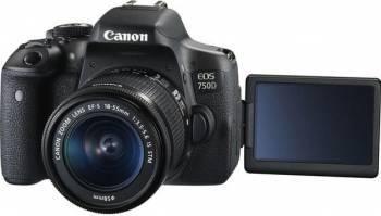 Camera foto digitala CANON EOS 750D + obiectiv 18-55 DC III Aparate foto DSLR