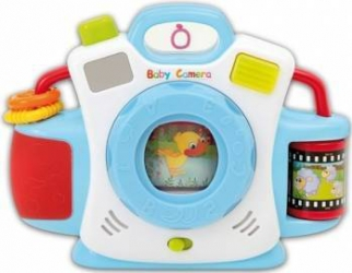 Camera foto pentru copii cu sunete Piccino Piccio Jucarii Interactive