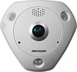 Camera supraveghere IP Hikvision DS-2CD6362F-IS 1.27mm 6MP Fish-eye Camere de Supraveghere