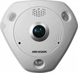 Camera supraveghere IP Hikvision DS-2CD6362F-IS 1.27mm 6MP Fish-eye Camere de Supraveghere