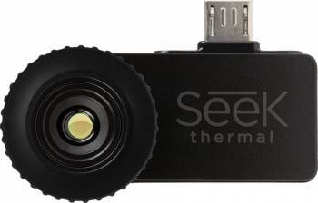 Camera Termoviziune Seek Thermal Compact microUSB OTG Android UW-EAA Selfie Stick si Accesorii Camera