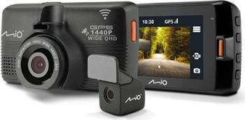 Camera Video Auto Mio MiVue 752 Dual WiFi Camere Video Auto