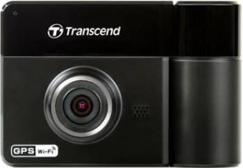 Camera Video Auto Transcend DrivePro 520 Full HD GPS Wi-Fi + Card De Memorie microSD 32GB Camere Video Auto