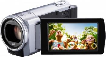 Camera video compacta JVC GZ-E10SEU Argintie