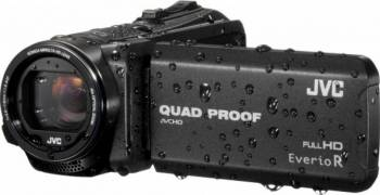 Camera video JVC GZ-R435BEU Quad-Proof Negru Camere video digitale