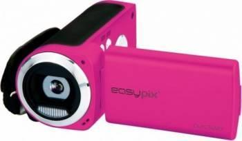 Camera video digitala EasyPix DVC5227 HD Pink Camere video digitale