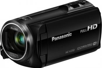 Camera Video Digitala Panasonic Full HD HC-V250 Black