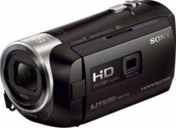 Camera video digitala Sony HDR-PJ410B cu proiector Camere video digitale