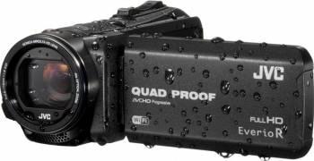 Camera Video JVC Quad-Proof R GZ-R415BEU Full HD Black Camere video digitale
