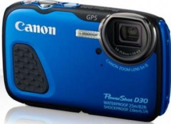 Camera video outdoor Canon PowerShot Waterproof D30 Albastru Camere Video OutDoor