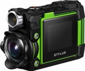 Camera video outdoor Olympus TG-Tracker Green Camere Video OutDoor