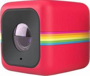 Camera Video Outdoor POLAROID Sport Cube Plus HD Rosu Camere Video OutDoor