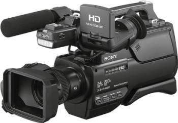 Camera video Sony HXR-MC2500E cu obiectiv Sony G zoom optic 12x