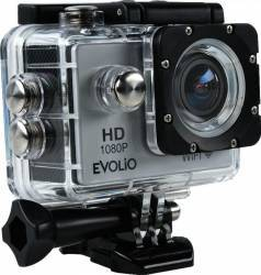 Camera video sport Evolio iSmart FHD Full HD Wi-Fi 12 MP Silver Camere Video OutDoor