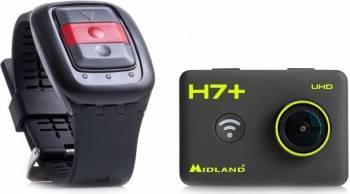 Camera video sport Midland H7+ Action Camera ULTRA HD 4K Black Camere Video OutDoor