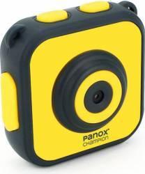 Camera Video Sport Panox Champion 720p Galben + 3 accesorii Camere Video OutDoor