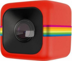 Camera Video Sport Polaroid Cube Full HD Rosu Camere Video OutDoor
