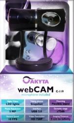 Camera Web Akyta C119 720P