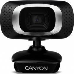 Camera Web Canyon CNE-CWC3 Full HD Neagra Camere Web