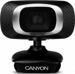 Camera Web Canyon CNE-CWC3 Full HD Neagra Camere Web