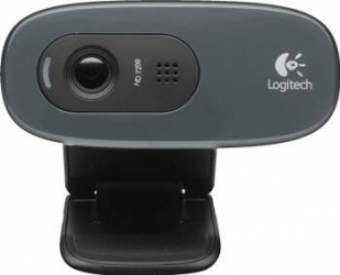 Camera Web Logitech HD Webcam C270 Neagra Camere Web