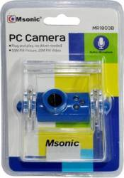 Camera Web Msonic MR1803B Albastru