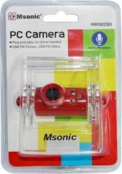 Camera Web Msonic MR1803R Rosu Camere Web