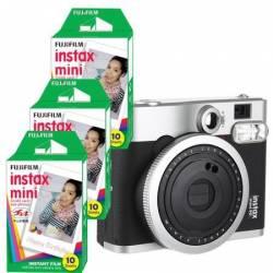 Camera foto instant Fujifilm Instax mini90+ 3 cutii film Instax Aparate Foto Film