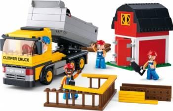 Camion de gunoi Sluban Town Construction M38-B0552 Seturi de constructie