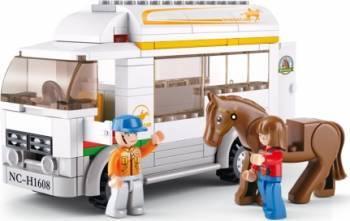 Camion pentru cai Sluban Town Farm M38-B0559
