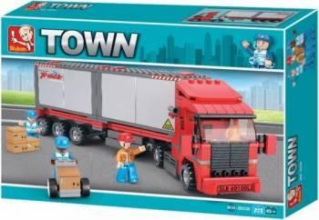 SLUBAN : Camion pentru container Jucarii