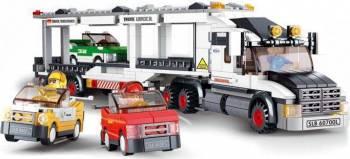 Camionul pentru transport masini Sluban Town M38-B0339 Lego